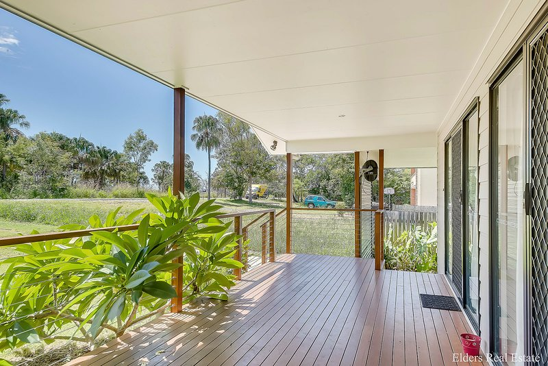 Front verandah with access to beach.  Outlook to the bushland and the sea beyond!