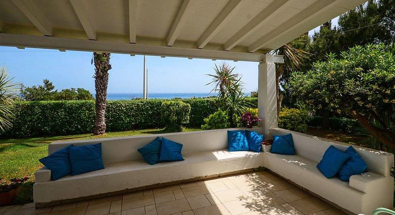 Villa al Mare San Giovanni - a due passi dal mare, alquiler vacacional en San Vito
