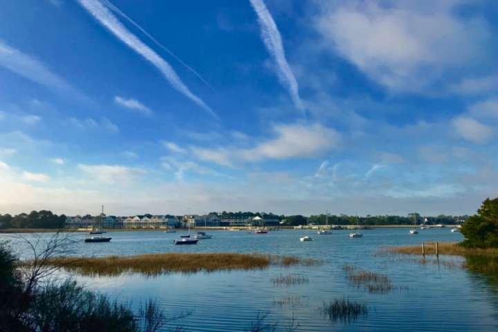 Vous allez adorer ce point de vue du matin sur la rivière folie!