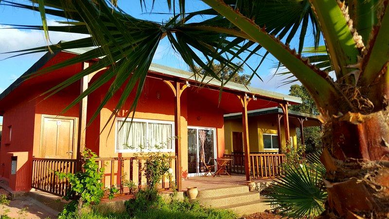 L'Echappée Belle Benslimane :Table et Maison d'hôtes dans très beau parc, holiday rental in Casablanca-Settat