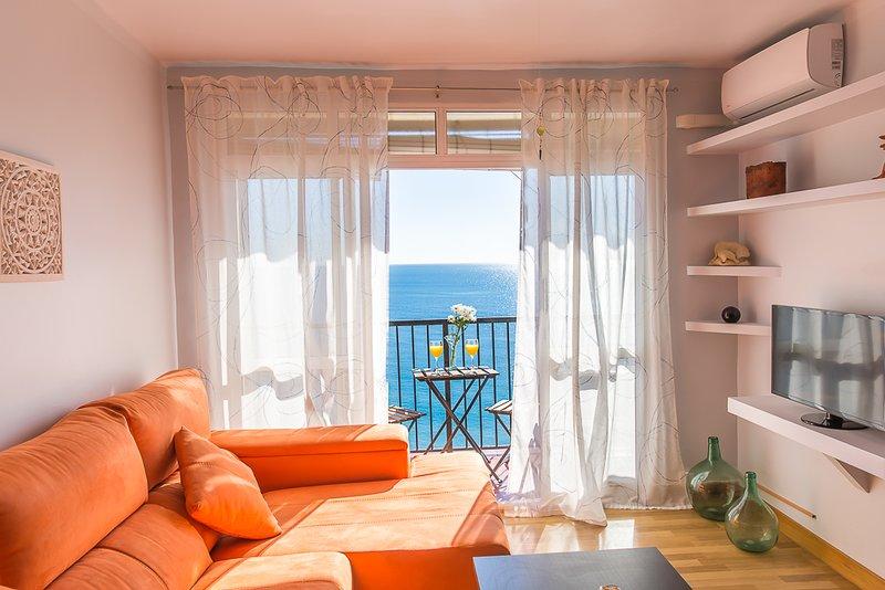Apartamento em frente à praia