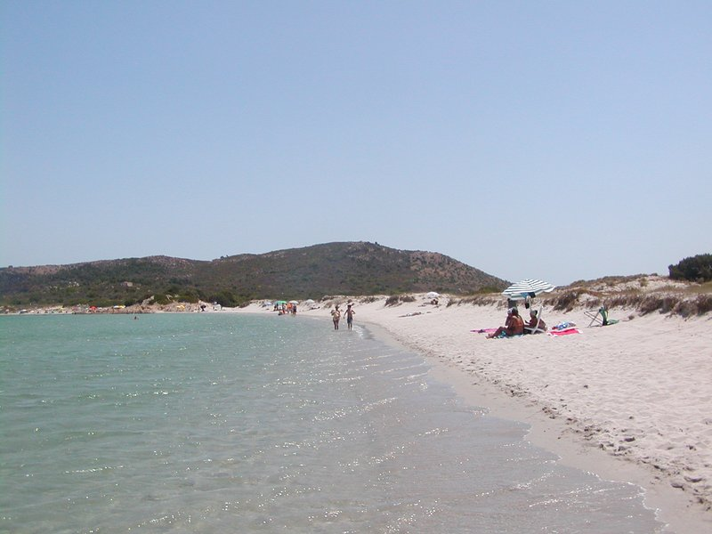 The beach of Marina Maria