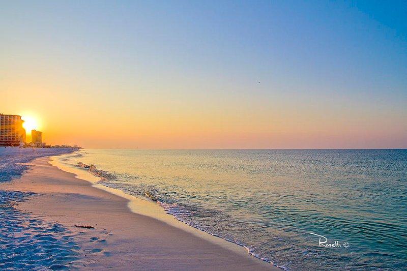 Seahorse azul es sólo 1/2 millas en coche a la playa y el Golfo en Perdido Key, FL