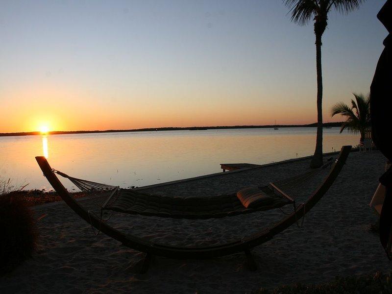 Relaxing Hammock on Beach