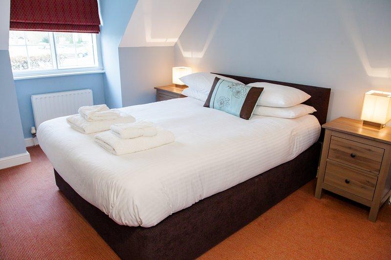 Spaziosa e confortevole camera da letto