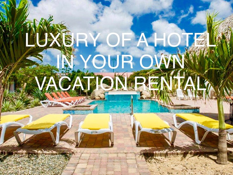 Arubawoning: Hotelservice in your own vacation rental, alquiler de vacaciones en Oranjestad