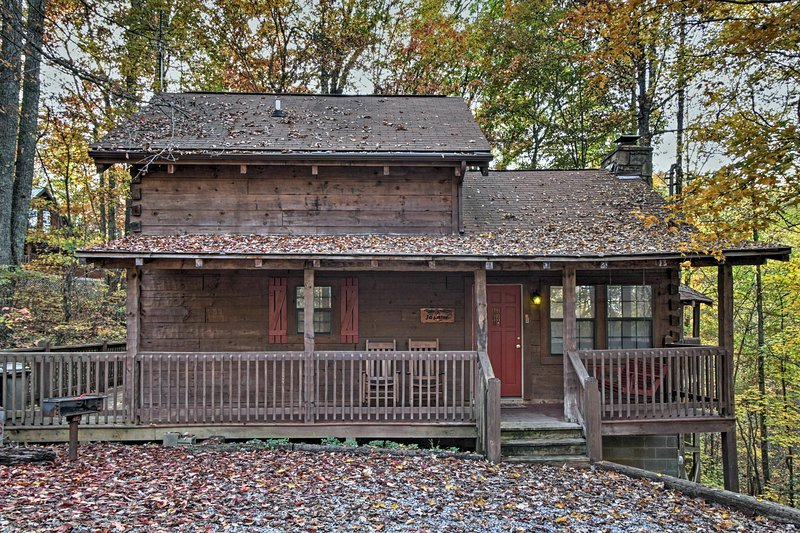 You'll love the year-round splendor at this lovely Sevierville vacation rental cabin!