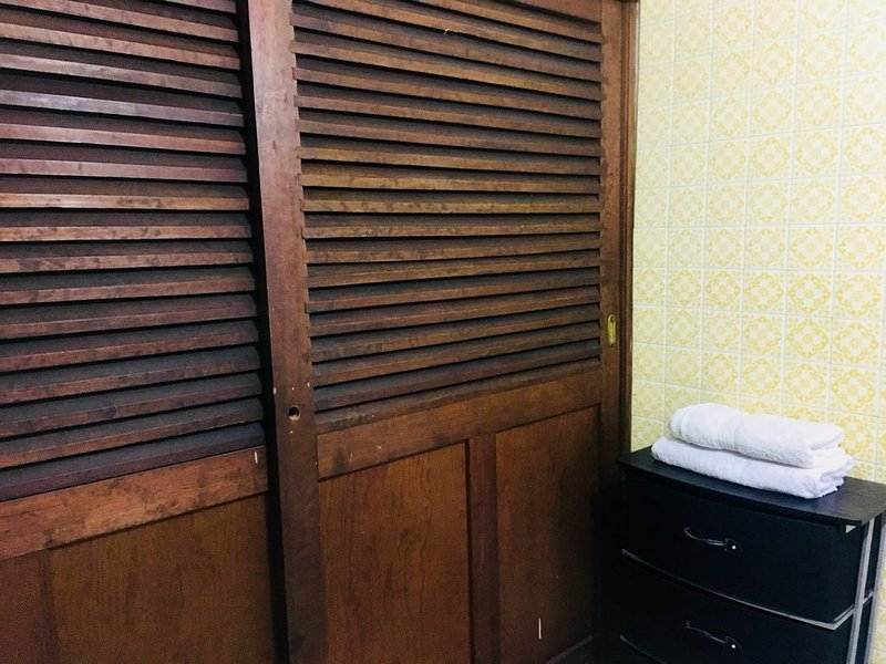 Large closets in each bedroom