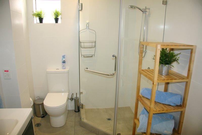 Large sunny upstairs bathroom