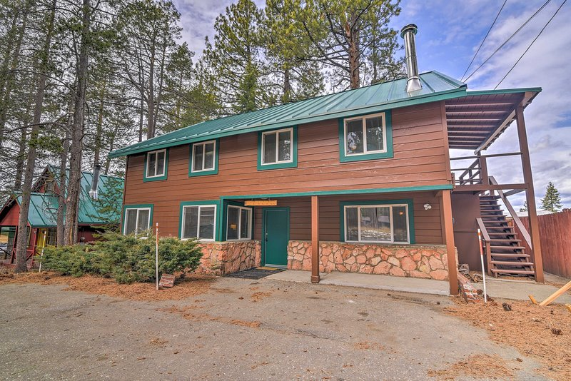 The best of South Lake Tahoe awaits at this 5-bedroom, 3-bath vacation rental!