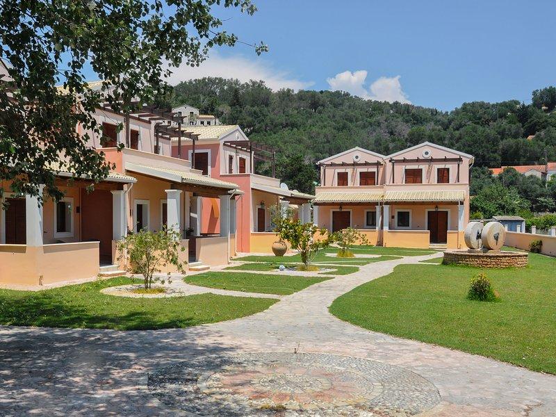 Erikousa Villas - House 1 80m from the beach, holiday rental in Ereikoussa
