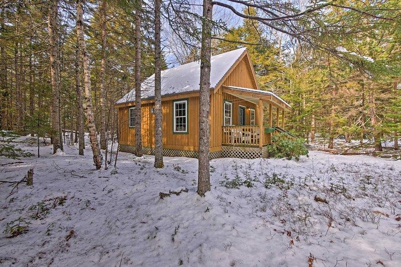 Godetevi un ambiente sereno di questa casa rustica Maine.