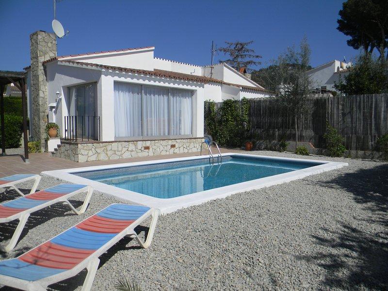 Vista di piscina privata