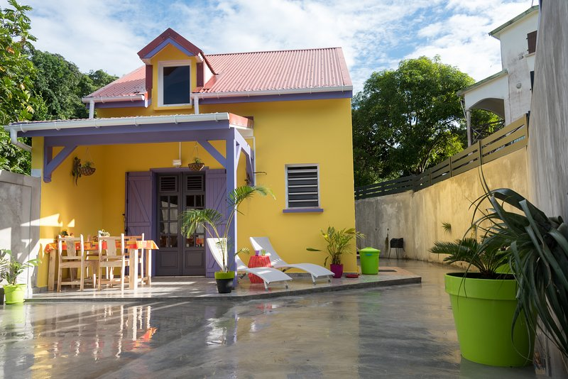 Beautiful house with garden & Wifi, holiday rental in Morne-A-l'Eau
