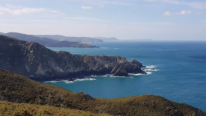 Walking trails where you can see majestic cliffs and wild landscape around us