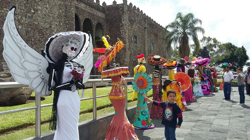The Catrina Day of the Dead on November 1 to 2