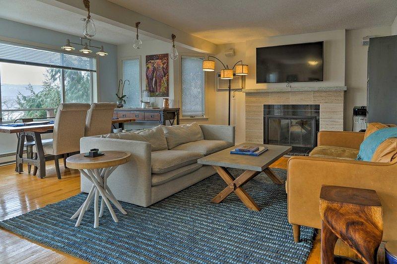 Profitez de toutes les commodités de la maison dans cet établissement moderne avec 3 chambres et 2 salles de bains.
