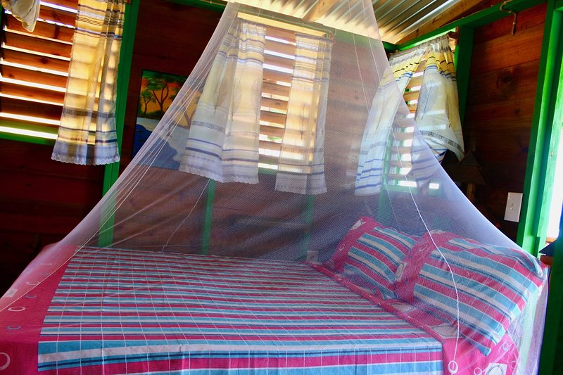 Double Bed with net
