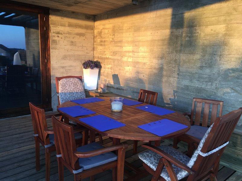 Mesa terraza salón