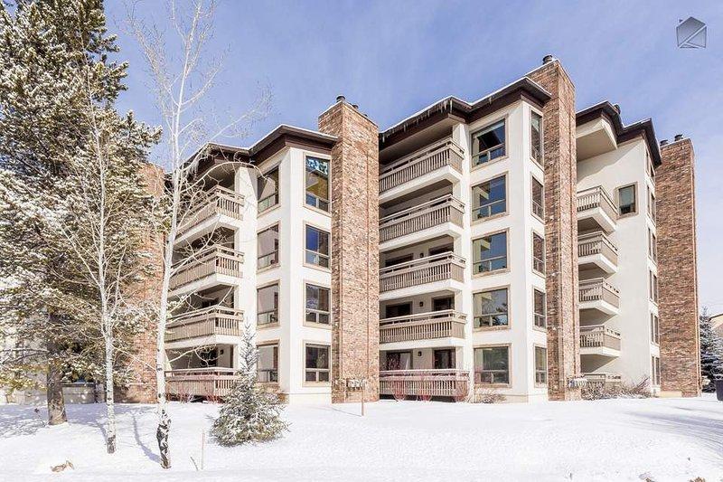 Estos apartamentos están ubicados a unos pasos de la góndola en Steamboat Resort.