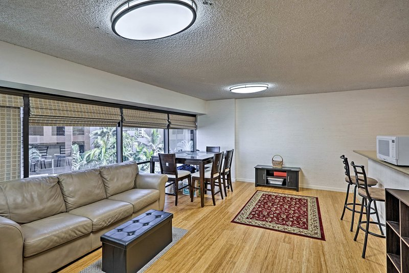 Plan your next Honolulu escape to this cozy vacation rental apartment.