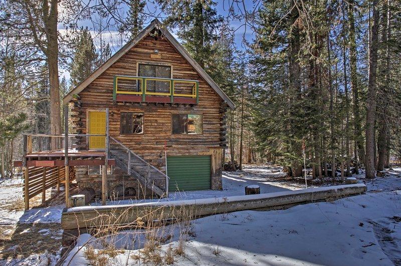 Débranchez l'intérieur de la cabine Dreamtime, une maison confortable nichée dans le parc national de Sequoia!
