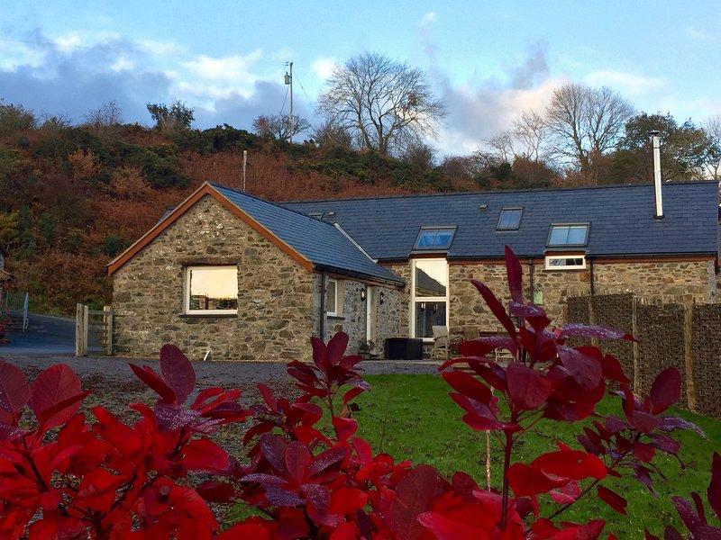 BRYN EITHIN, en-suites, valley views, exposed beams. Ref 29635, holiday rental in Pentre-Llyn-Cymmer