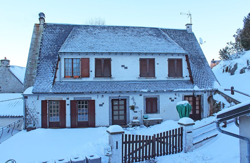 house in winter (front)
