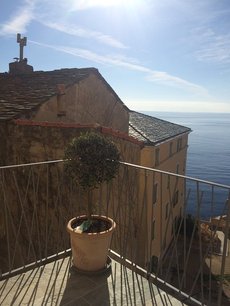Amazing apt with sea view & terrace, vacation rental in Bastia