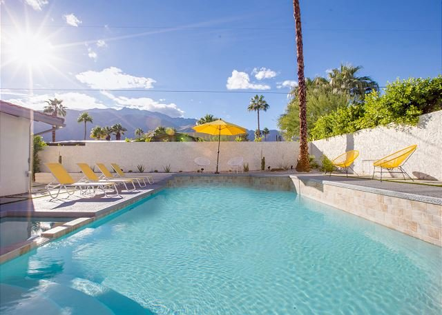 Lemon Twist - cour de la piscine très privée! Vues magnifiques sur la montagne