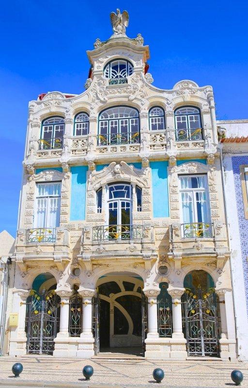 Nouveau Museo d'Arte di Aveiro.