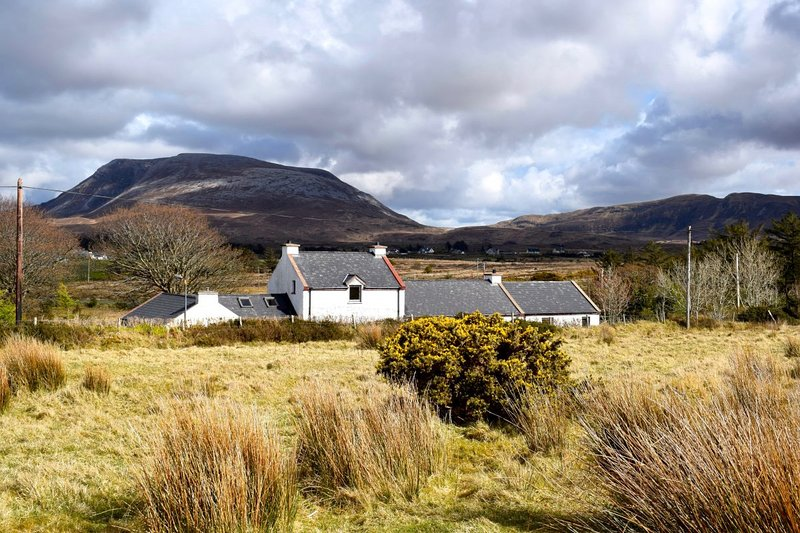 The Song House and Iconic Muckish Mountain in the Background