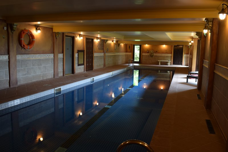 Indoor swimming Pool, Part of Optional Luxury Package from £100.00 per week paid locally