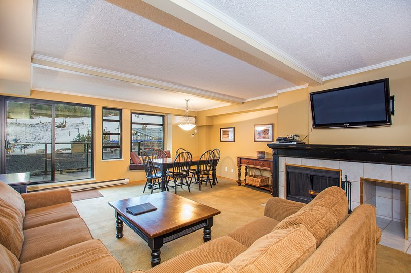 Elegant Suite with Private Mountain View Balcony! | AMAZING LOCATION! Chalet in Whistler