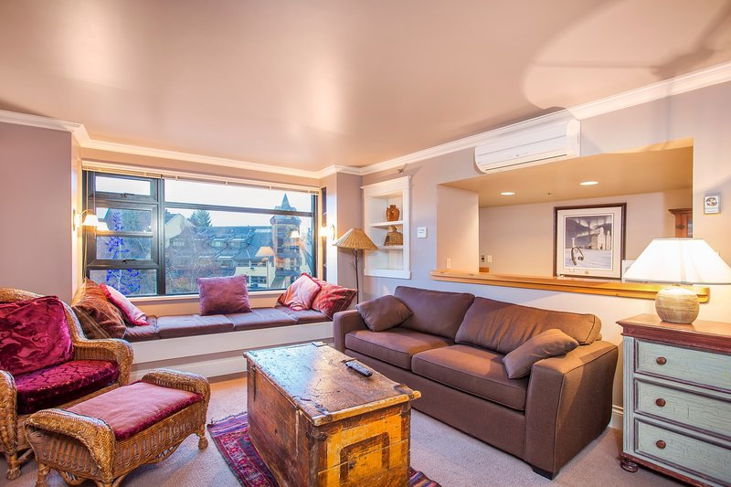 The 1 Bedroom Silver Suite has views of Whistler Village