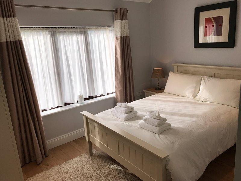 Bedroom 1 with double bed.( en-suite)