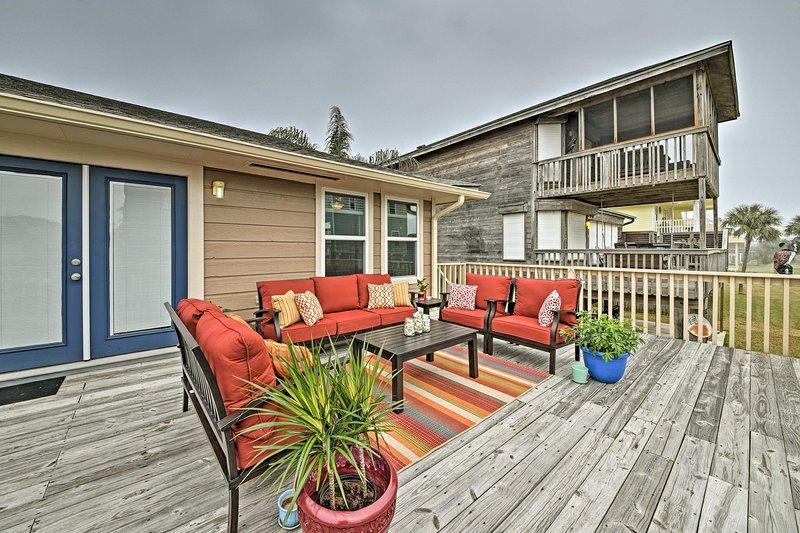 Planifiez votre prochaine escapade à la plage à ce 2 chambres, vacances maison de location 2-bain.