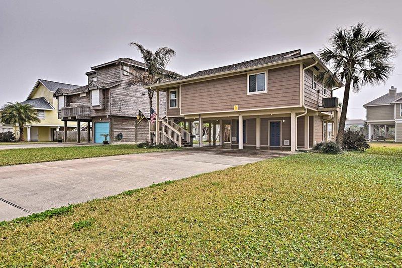 Cette maison est l'endroit idéal pour explorer tout à Galveston!