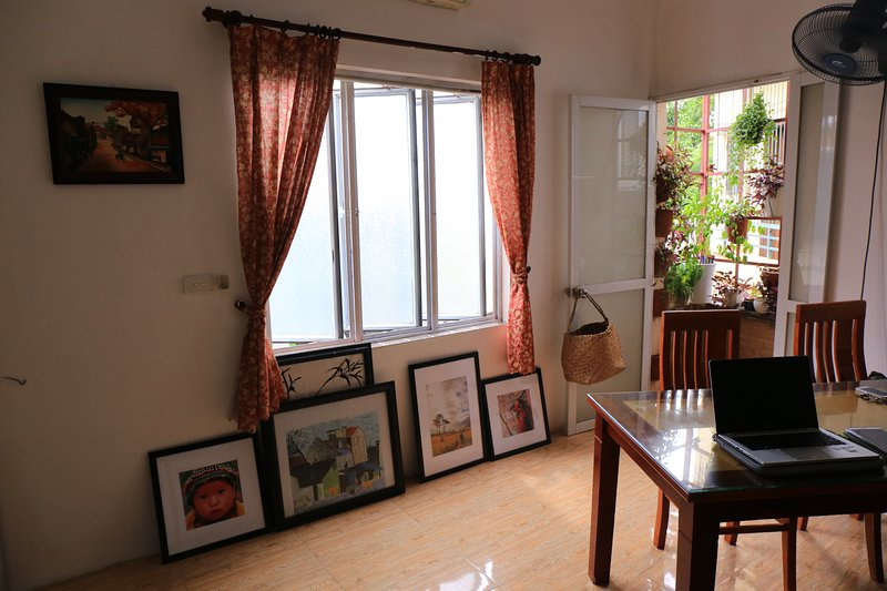 maison confortable avec une belle cuisine sur