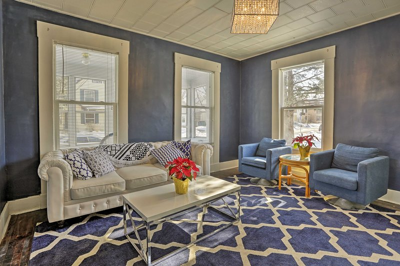 Stay at this newly remodeled 3-bedroom, 1-bathroom vacation rental house during your trip to Minneapolis!