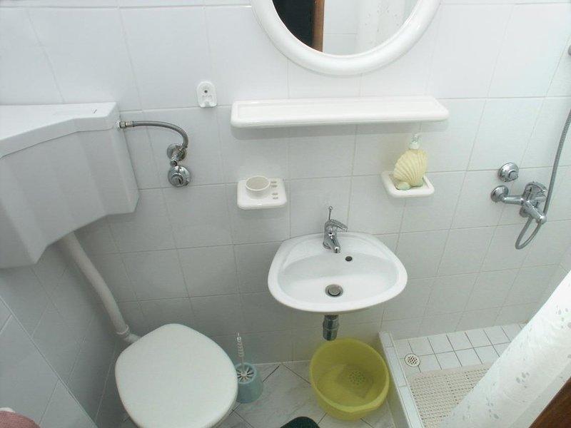 Baño, Superficie: 2 m²