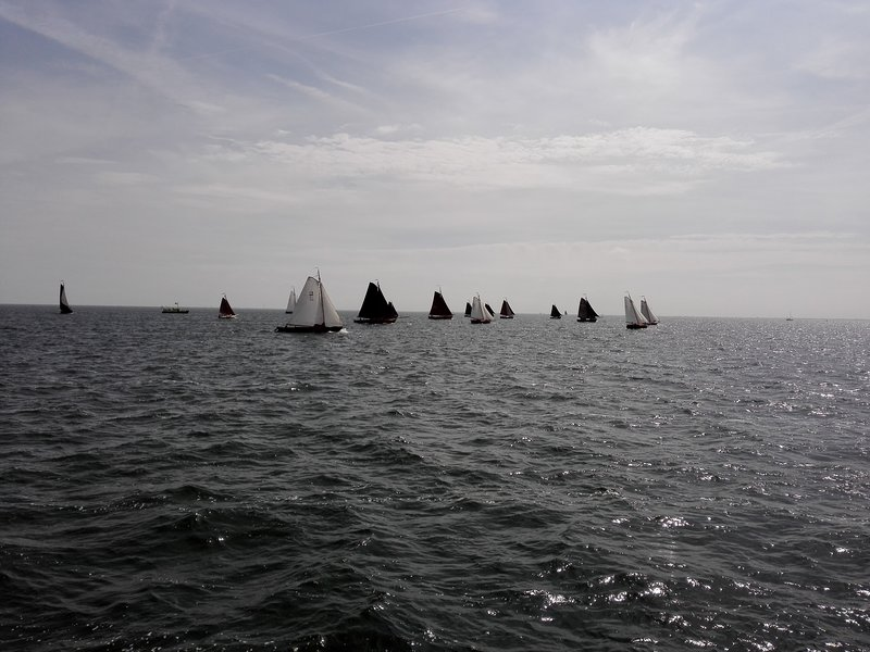 Go for Sailing on Former Zuider See or Present IJsselmeer.