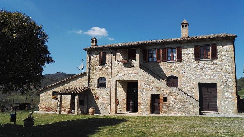 Agriturismo Podere Collesanto (a uso esclusivo), holiday rental in Colle Umberto I