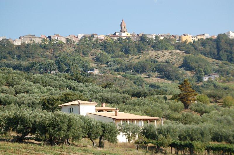 Si tratta di Villa Molicasa proprio di fronte a Guglionesi