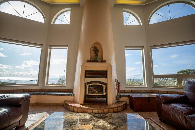 Custom Beehive Fireplace