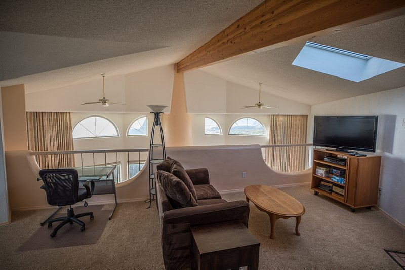 Entertainment Center with Views