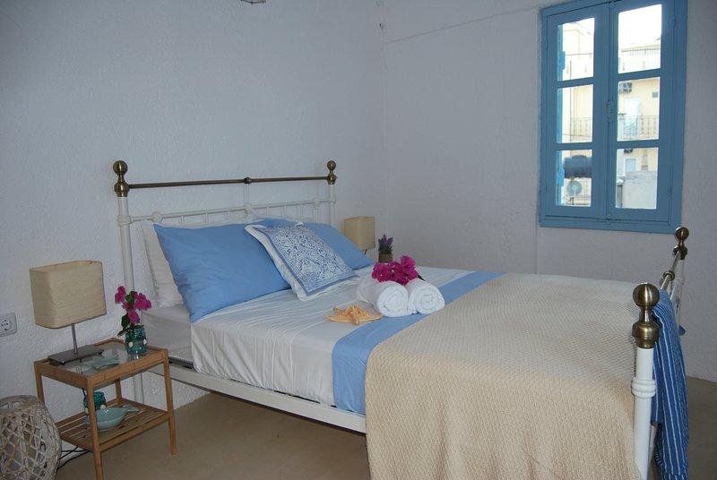 habitación doble con balconhy