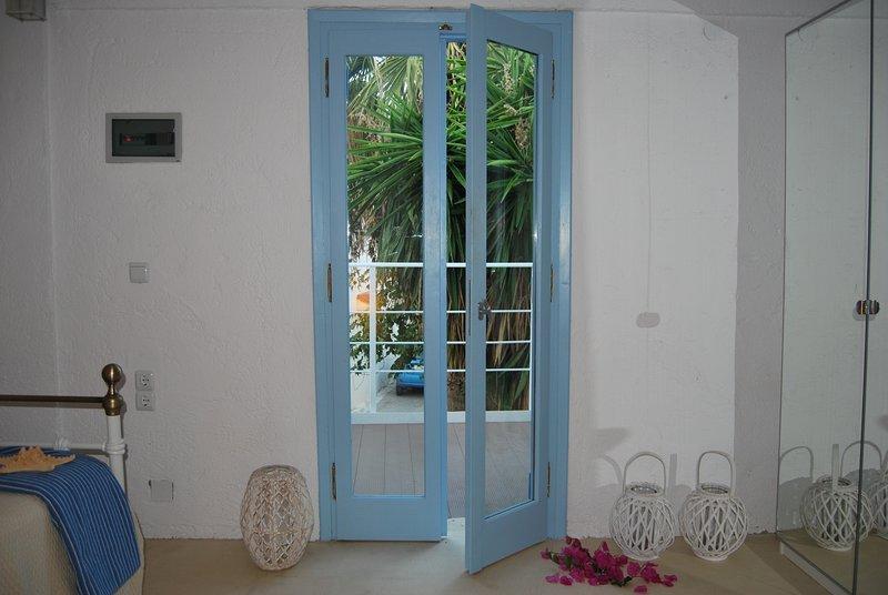 Puertas a balcón
