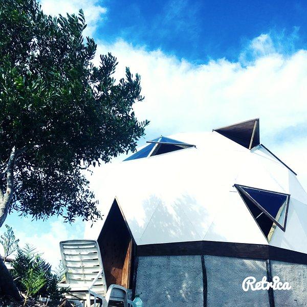 Casa Domo en Santa Isabel de la Pedrera, casa vacanza a Rocha