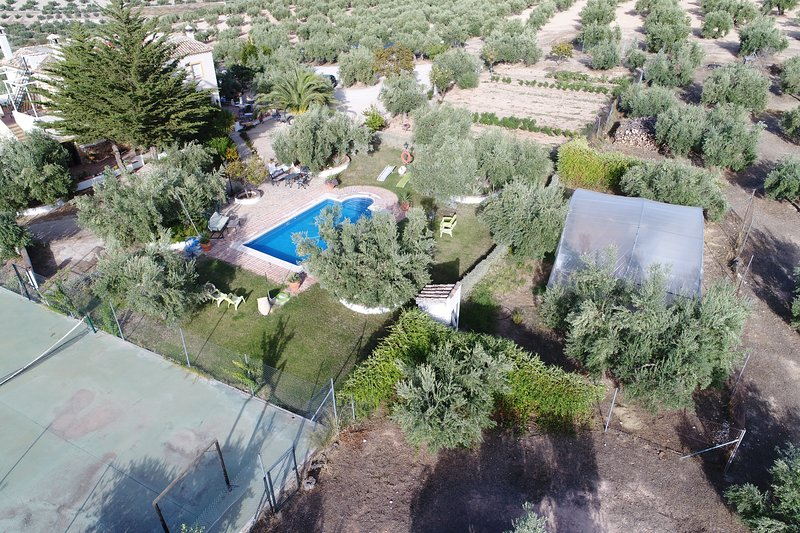 AGRO-TURISMO  ECOLOGICO  EL CORTIJILLO  ideal para excursiones por Andalucia, holiday rental in Baena